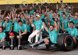 Mercedes F1 champions