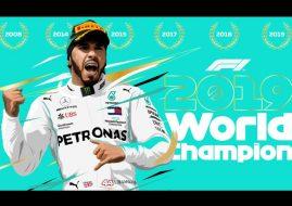 2019 F1 champion Lewis Hamilton