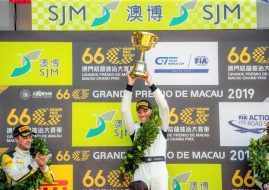 2019 FIA GT World Cup podium