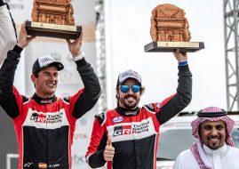 Ferando Alonso Al Ula Neom Rally SaudiArabia