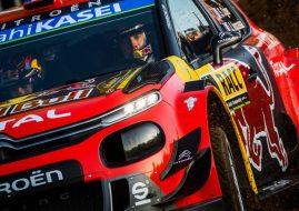 Sebastien Ogier Citroen C3 WRC