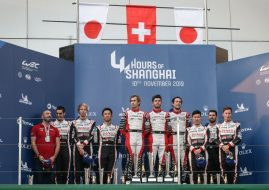 WEC 4 Hours of Shanghai podium