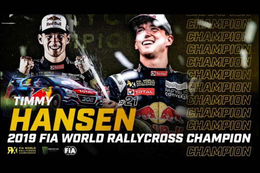 Timmy Hansen 2019 champion