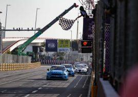 WTCR Macau R2 finish