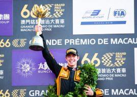 2019 Formula 3 Macau Grand Prix podium winner Richard Verschoor