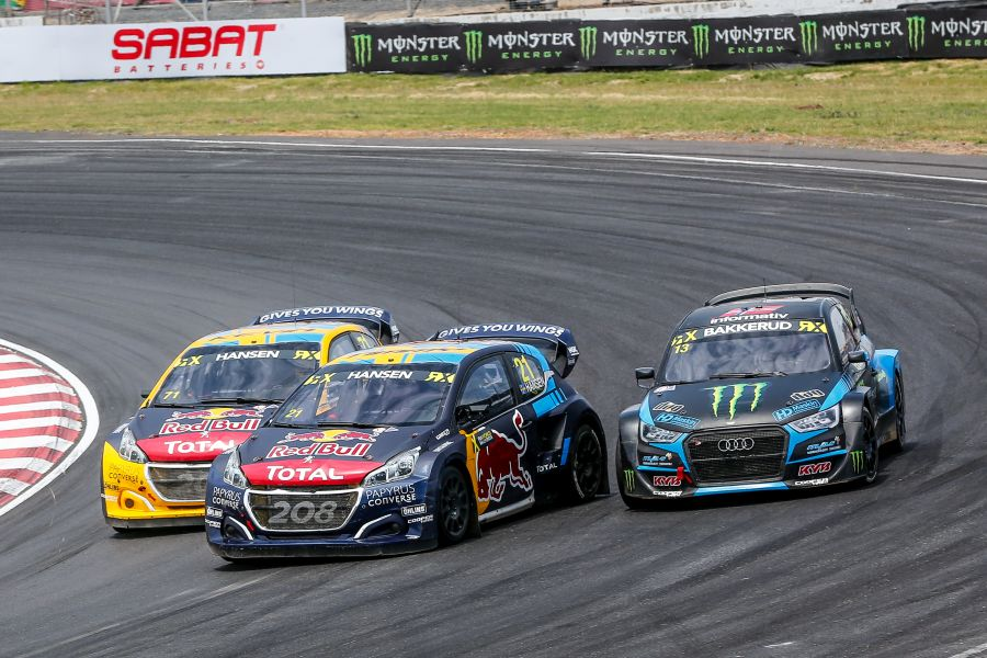 Top 3 drivers in the FIA World Rallycross Championship