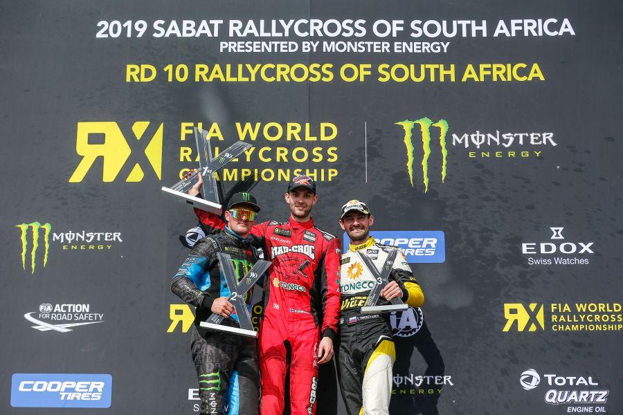 World RX of South Africa podium