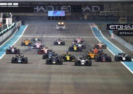 F2 Abu Dhabi R1 start