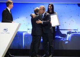 FIA Hall of Fame 2019 ceremony Jean Todt Jacky Ickx