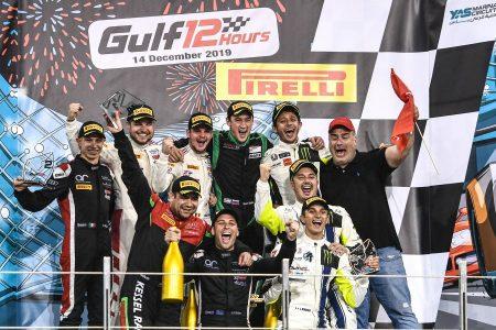 Gulf 12 Hours podium