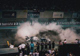 F1 Abu Dhabi Grand Prix Lewis Hamilton