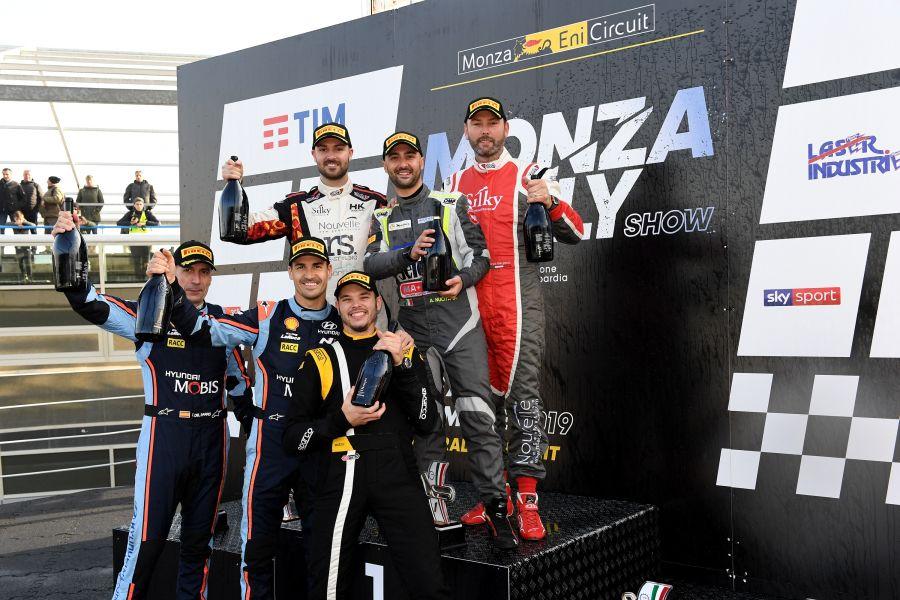 Monza Rally Show 2019 podium
