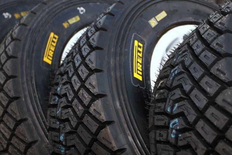 Pirelli rally tyres