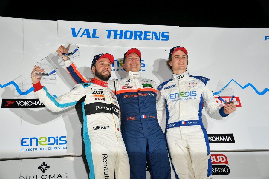 Trophee Andros Val Thorens podium