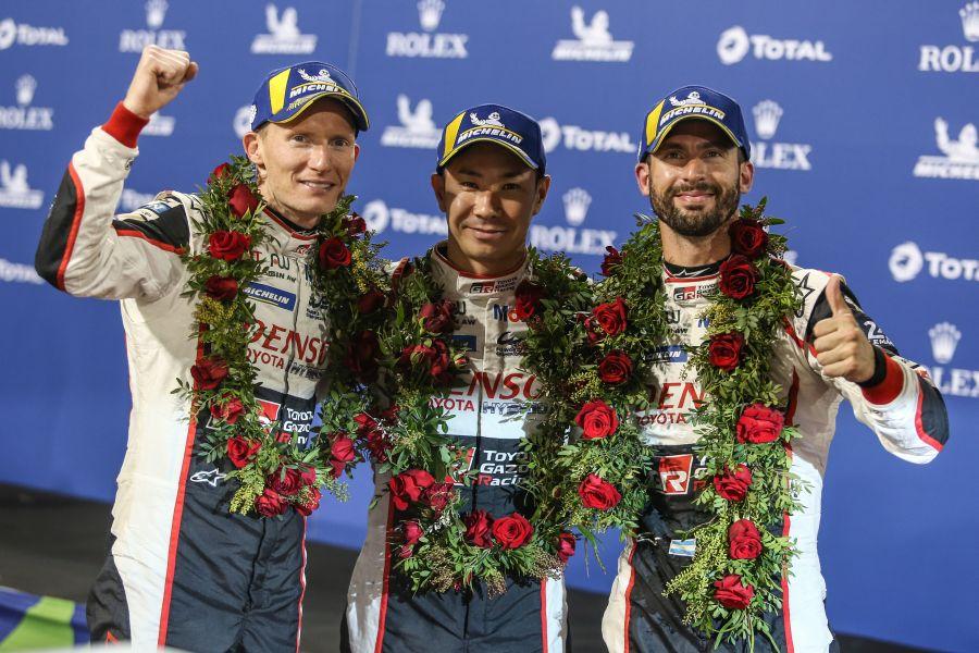 WEC 8 Hours of Bahrain winners