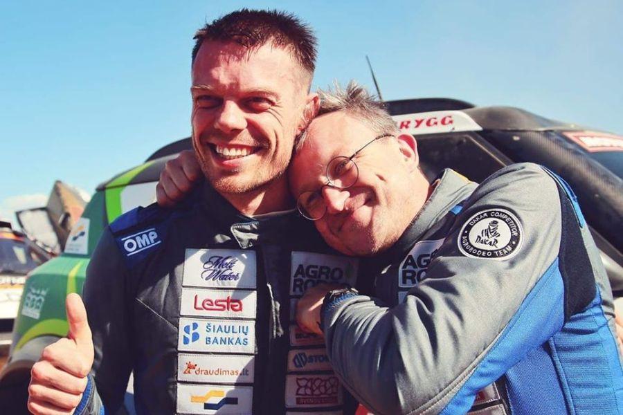 Vaidotas Žala and Saulius Jurgelenas, 2020 Dakar Rally