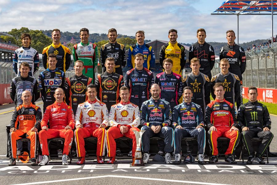 2020 supercars drivers