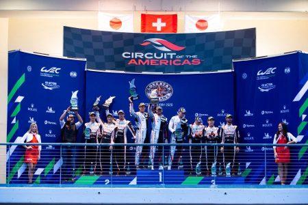 FIA WEC COTA Lone Star Le Mans podium