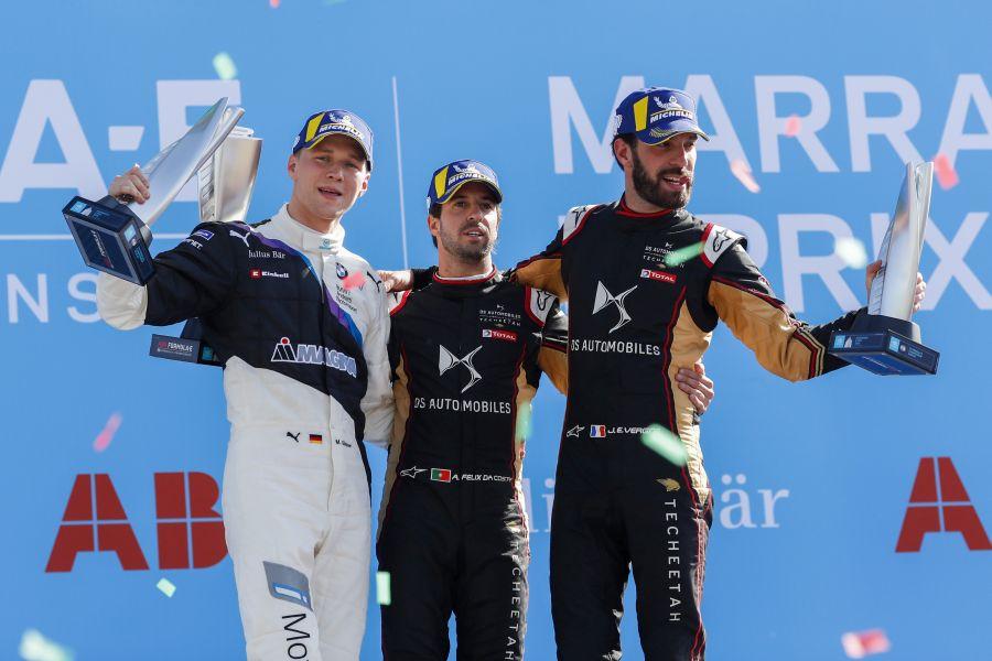 Marrakesh E-Prix podium