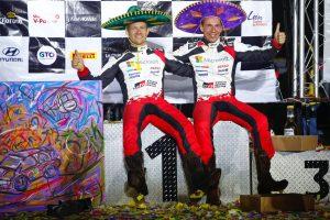 2020 Rally Mexico winners
