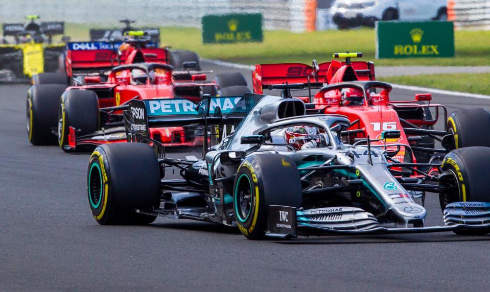 F1 Sponsors 2020