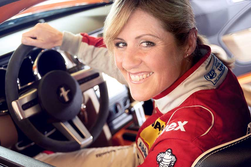 The one and only Sabine Schmitz